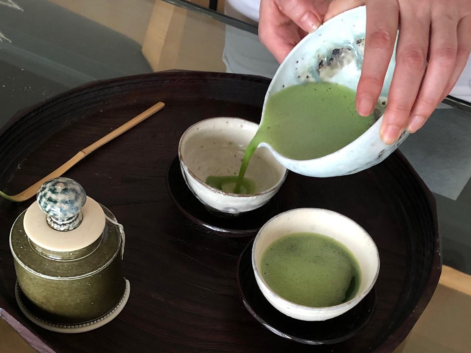 コロナ対策にお勧め緑茶抹茶